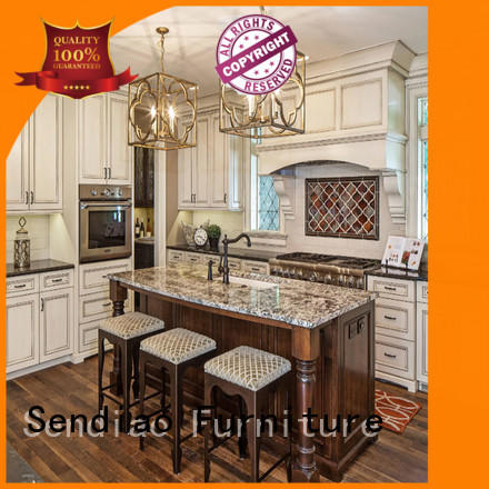 New products oak kitchen cabinets Simplicity A living room Sendiao Furniture