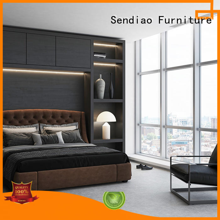 Sendiao Furniture wardrobe wooden clothes wardrobe The latest generation A living room