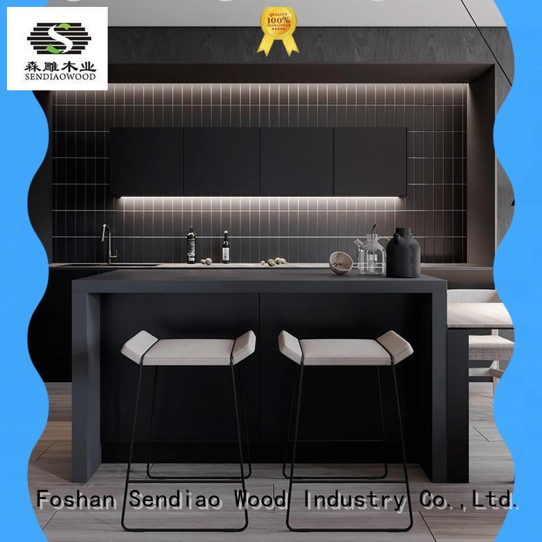 design laminate kitchen cabinets fashion Bedroom Sendiao Furniture