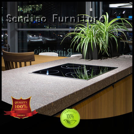 Sendiao Furniture low price contemporary kitchen cabinets classical Exhibition hall