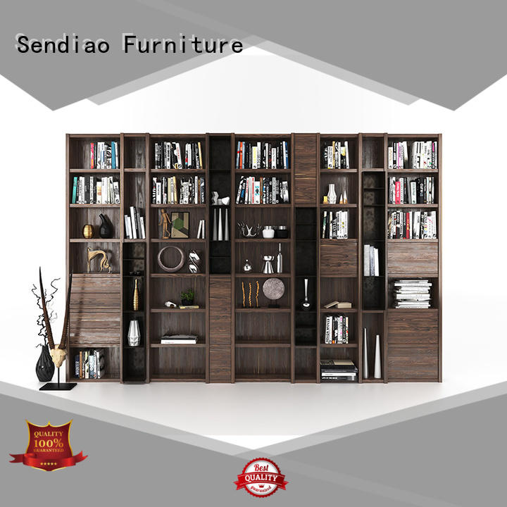 Sendiao Furniture New solid wood bookcases Suppliers exhibition hall
