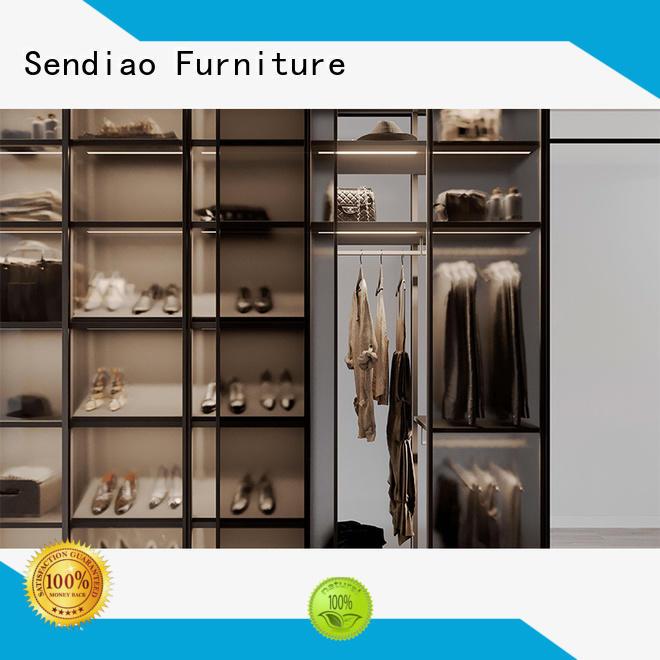 Sendiao Furniture syle bespoke wardrobe Suppliers three-star hotel