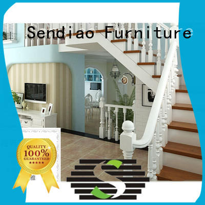 Latest wooden spiral staircase staircase Suppliers exhibition hall
