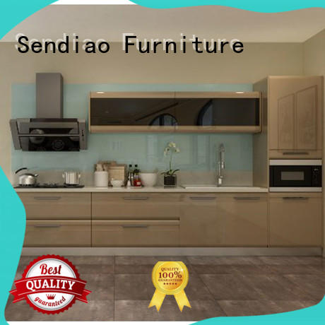 Sendiao Furniture cabinet modular kitchen cabinets classical A living room