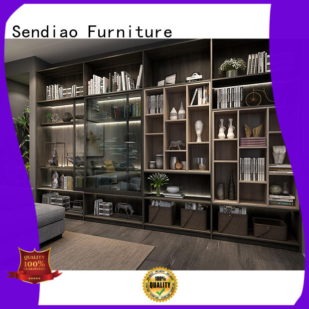 Sendiao Furniture super solid wood bookcases suppliers bedroom