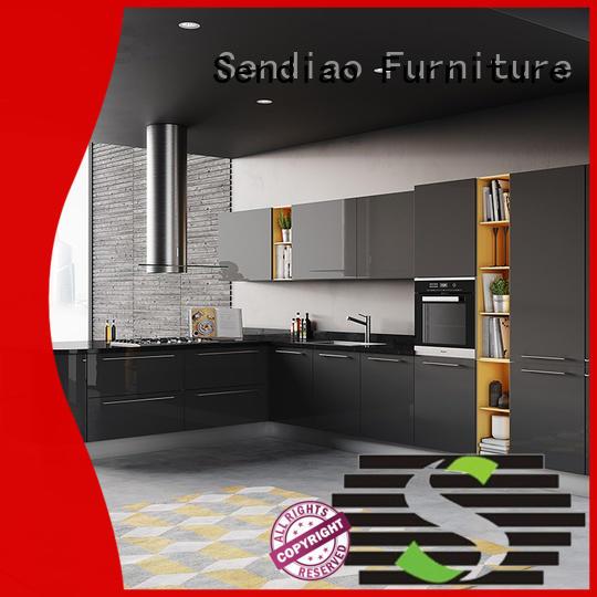 Sendiao Furniture Latest modular kitchen cabinets Suppliers three-star hotel