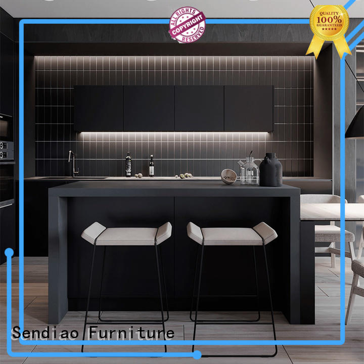 Sendiao Furniture low price bespoke kitchen cabinet for business bedroom