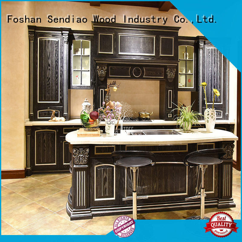 Sendiao Furniture Brand lacquer modular artificial freedom bespoke kitchen cupboards