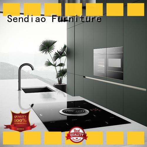 Sendiao Furniture sdk06 wood kitchen cabinets factory study