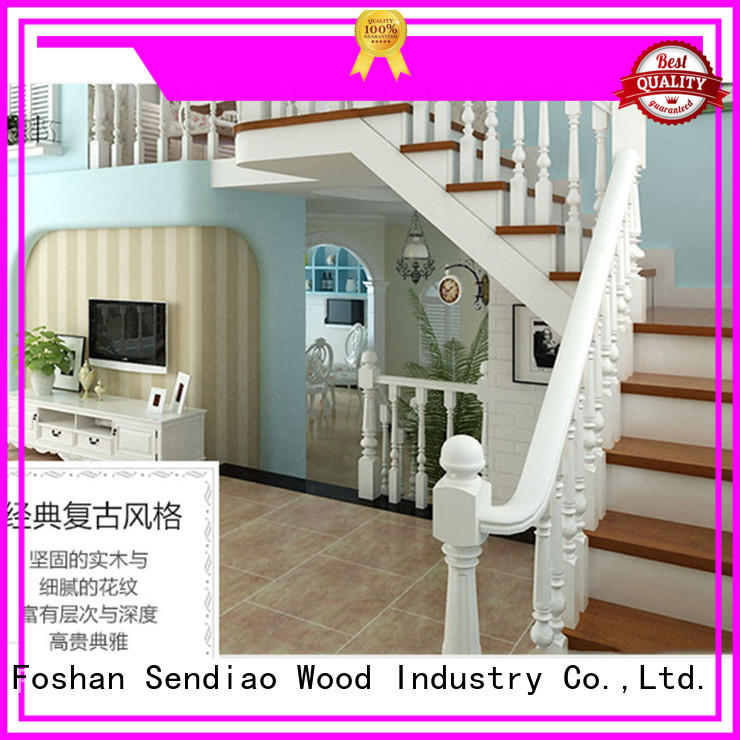 solid staircase wood floor stairs cabinet Sendiao Furniture company