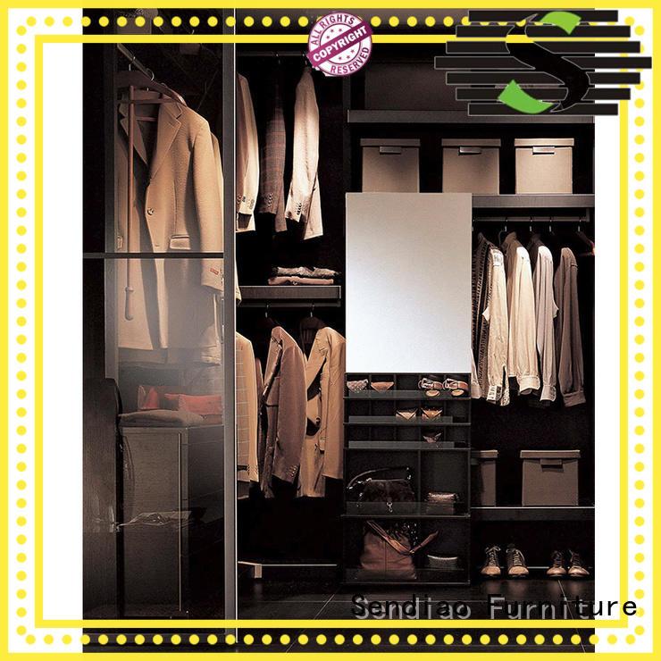 Sendiao Furniture low price bespoke wardrobe supply three-star hotel