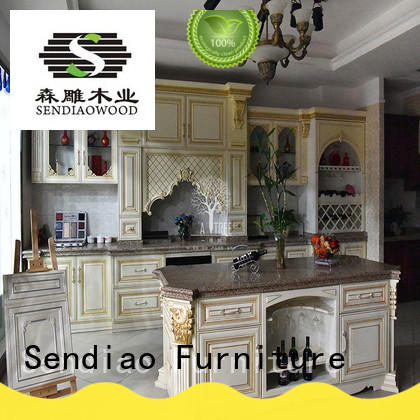 Sendiao Furniture cabinet solid wood cupboard American style Bedroom