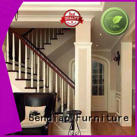 Sendiao Furniture spiral hardwood stairs Suppliers three-star hotel