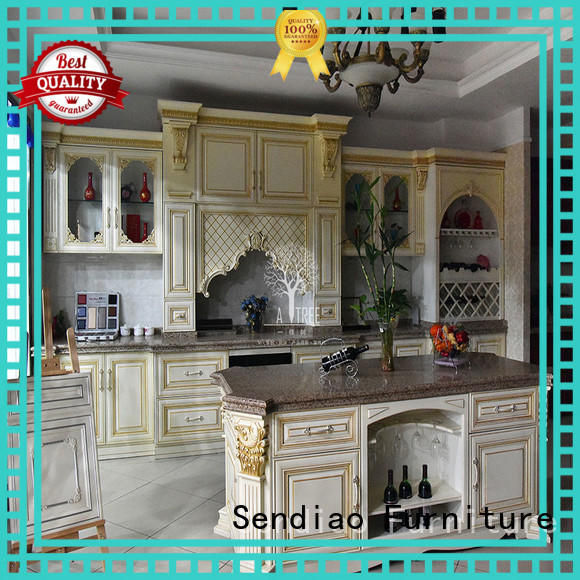 Sendiao Furniture The latest generation solid wood cupboard lacquer Four Star Hotel