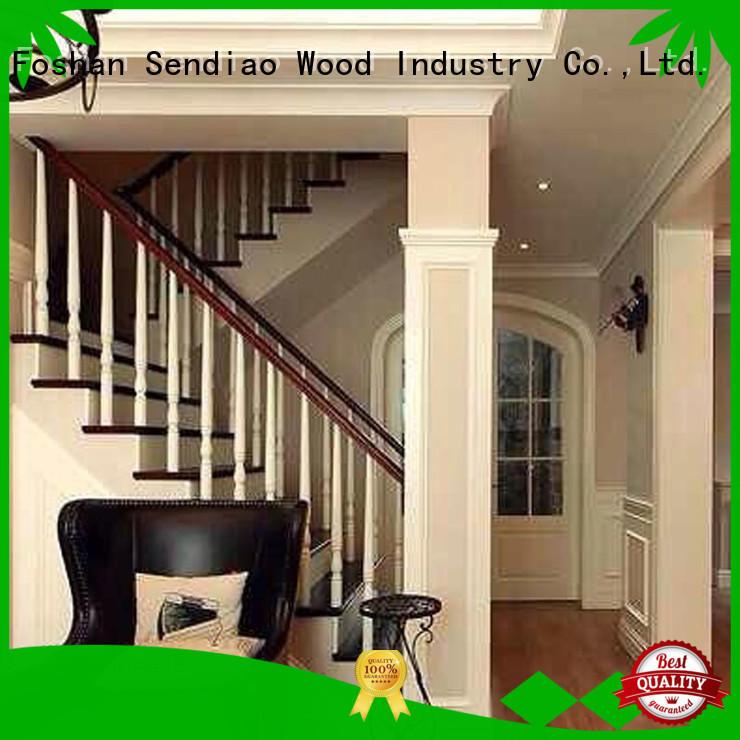 hardwood stairs sds01 Chateau Sendiao Furniture