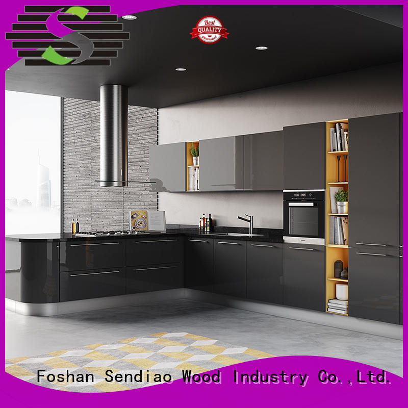 Sendiao Furniture Top real wood kitchen cabinets Suppliers four-star hotel