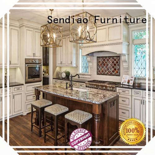 Sendiao Furniture classical bespoke kitchen cabinet company study