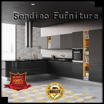 Wholesale custom wood kitchen cabinets modern factory fivestar hotel