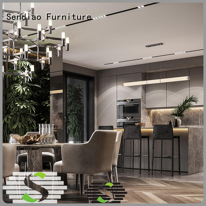The latest generation contemporary kitchen cabinets quartz factory study