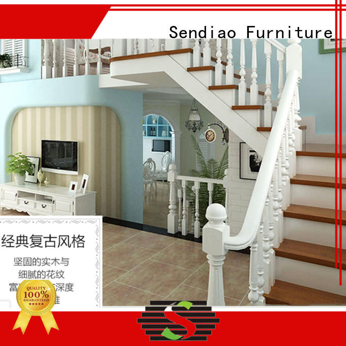 Sendiao Furniture Simplicity bespoke wooden staircases company bedroom
