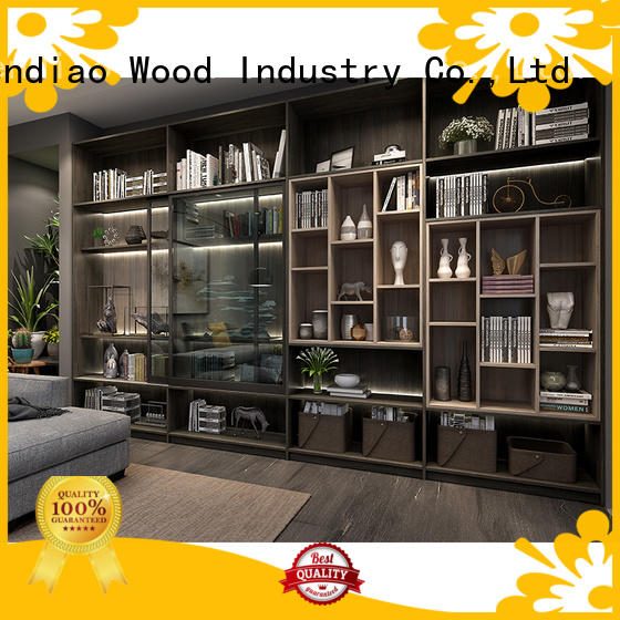 Sendiao Furniture wood wooden bookcase for business bedroom