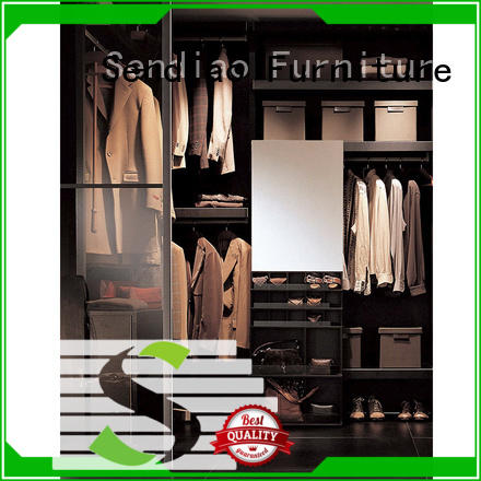 Sendiao Furniture New products wooden wardrobe closet supply four-star hotel