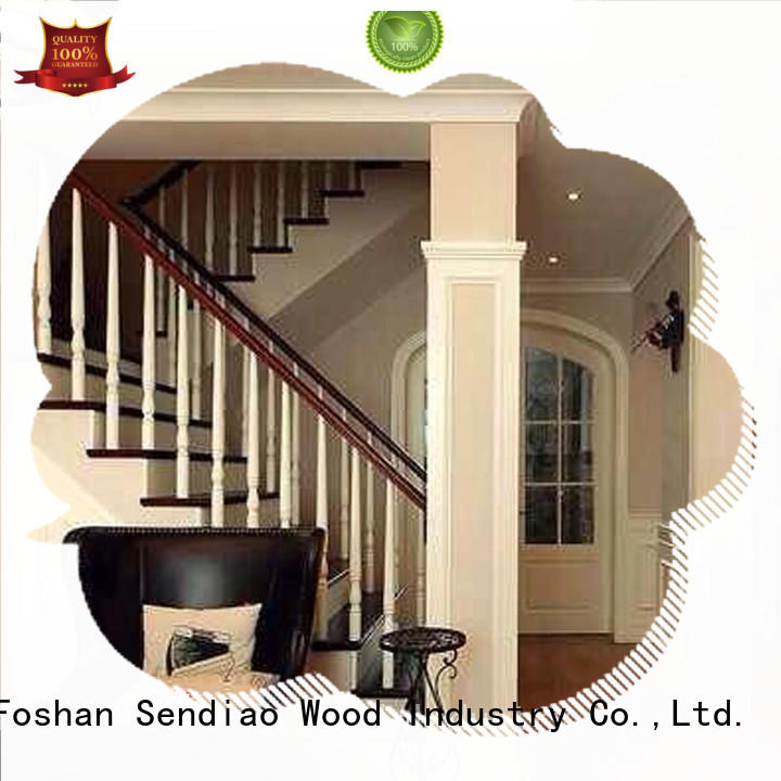 wooden staircase wood Four Star Hotel Sendiao Furniture