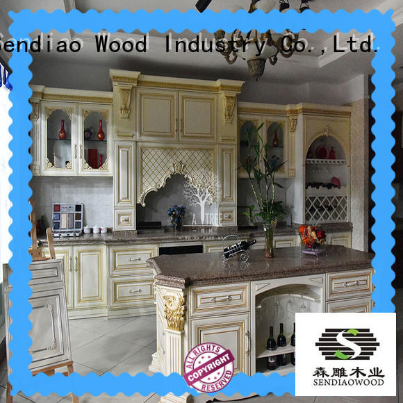 Sendiao Furniture cabinets luxury kitchen cabinets The latest generation Study