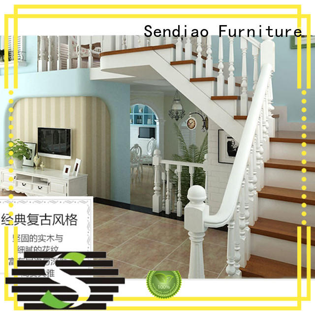 modular modern wooden staircase designs wood Study Sendiao Furniture