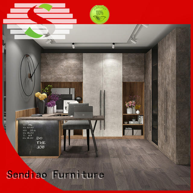 Sendiao Furniture New products bespoke bookcases manufacturers study