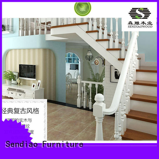 wooden steps wood Exhibition hall Sendiao Furniture