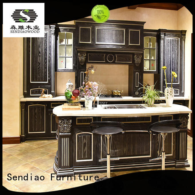 Sendiao Furniture sdk02 wooden cupboard New products A living room