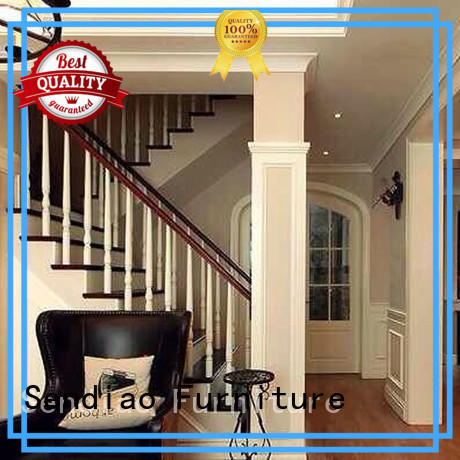 Sendiao Furniture sds03 wooden staircases Promotion A living room