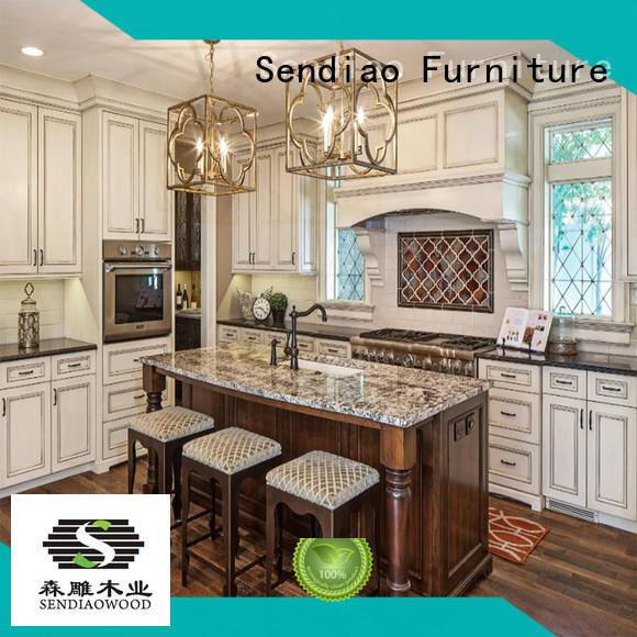 Sendiao Furniture Brand kitchen modern cherry kitchen cabinets design supplier