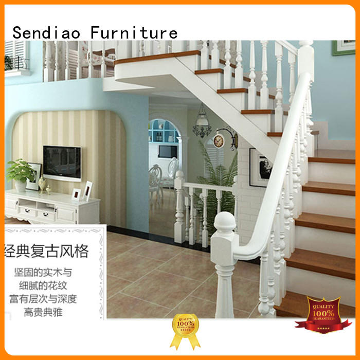 Sendiao Furniture sds01 bespoke wooden staircases Promotion Bedroom