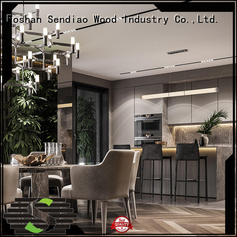 Sendiao Furniture Best modular kitchen cabinets for business fivestar hotel