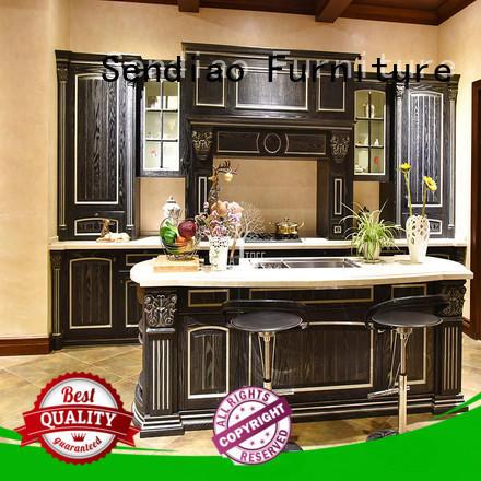 cabinets luxury kitchen cabinets sdk02 Fivestar Hotel Sendiao Furniture