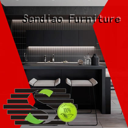 Sendiao Furniture High-quality custom kitchen cabinets company four-star hotel
