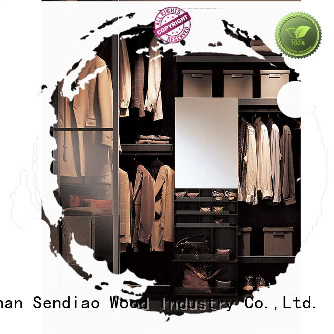 Top wood wardrobe cabinet luxury Suppliers a living room